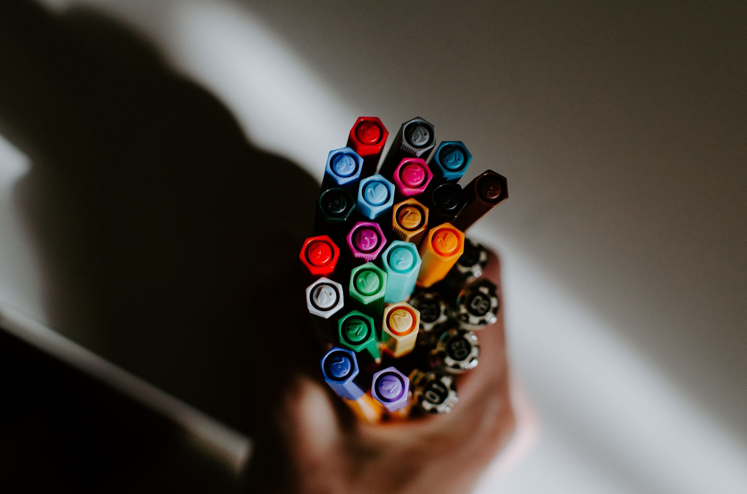 Image of pens