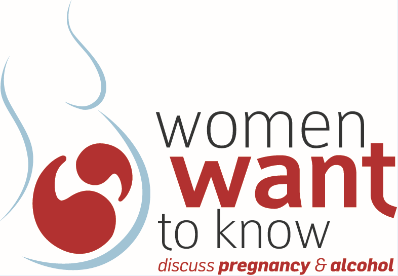 Women want to know logo